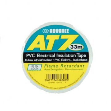 PVC Tape, 19mm - White